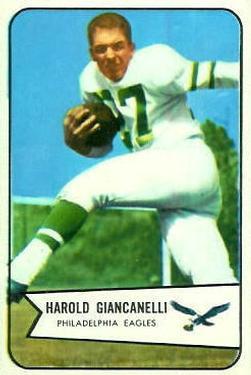 1954 Bowman #33 Harold Giancanelli RC