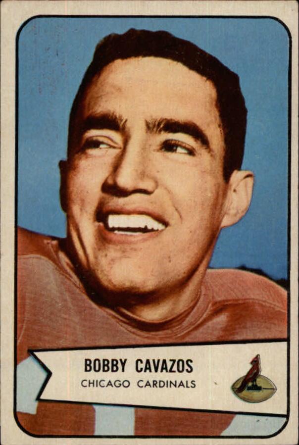 1954 Bowman #36 Bobby Cavazos RC