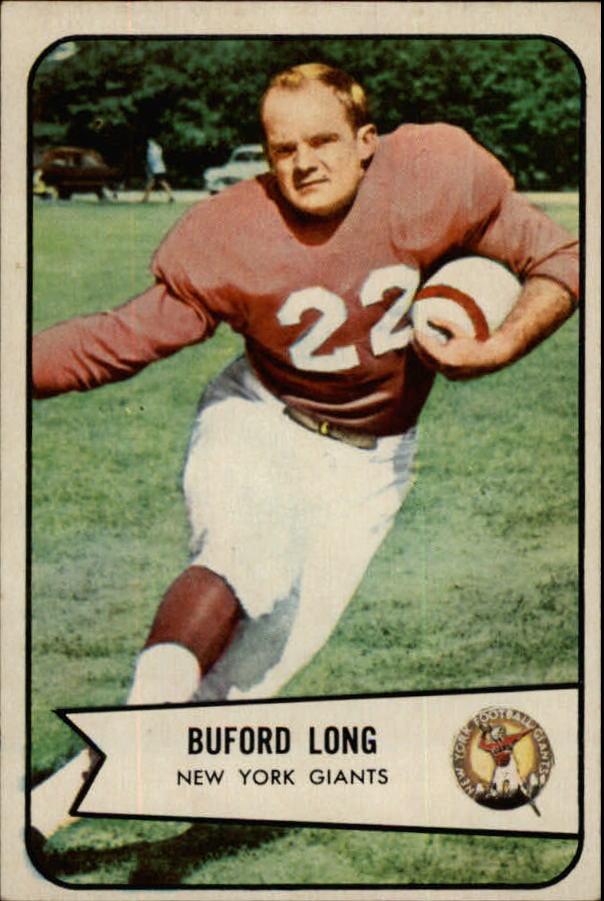 1954 Bowman #43 Buford Long RC