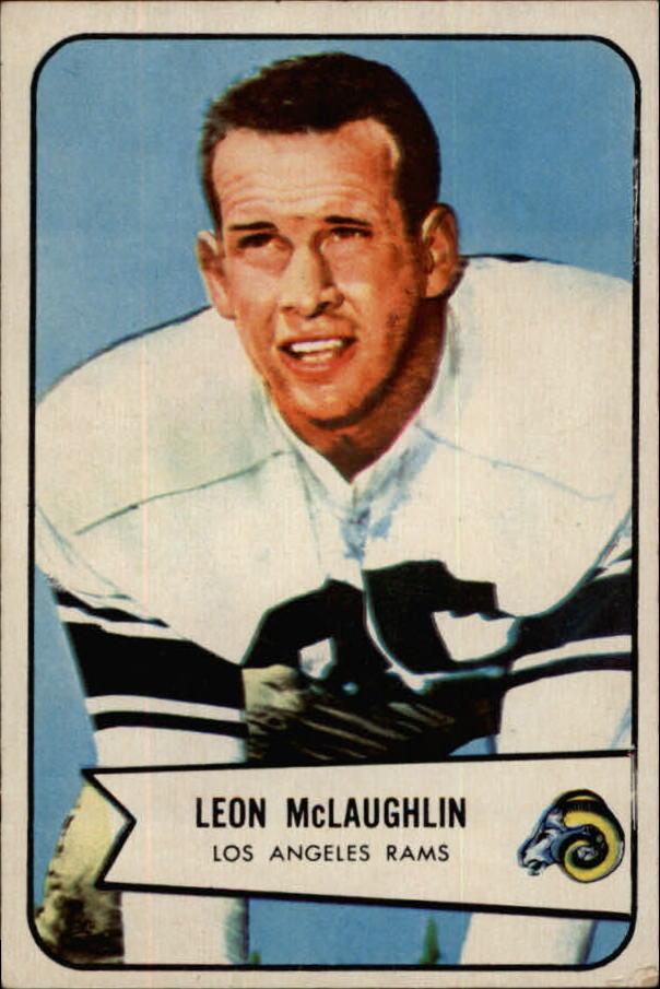 1954 Bowman #56 Leon McLaughlin RC