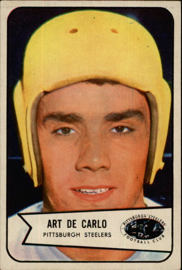 1954 Bowman #71 Art DeCarlo SP RC