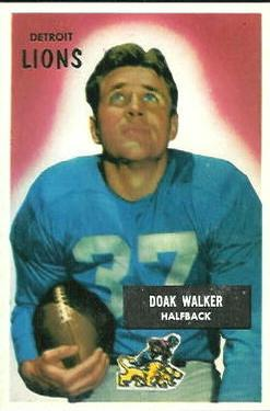 1955 Bowman #1 Doak Walker