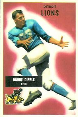 1955 Bowman #4 Dorne Dibble RC