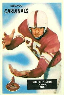 1955 Bowman #18 Max Boydston RC