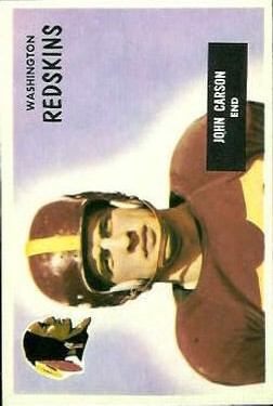 1955 Bowman #22 Johnny Carson RC