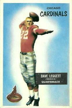 1955 Bowman #31 Dave Leggett RC