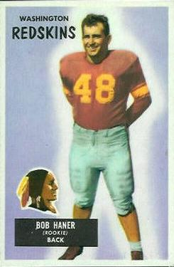 1955 Bowman #34 Robert Haner RC