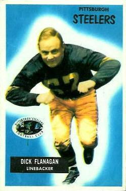 1955 Bowman #39 Dick Flanagan RC
