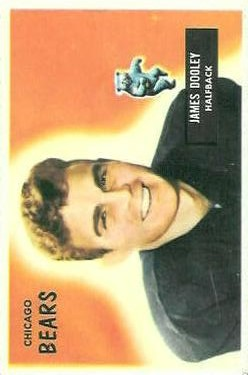 1955 Bowman #40 Jim Dooley