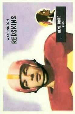 1955 Bowman #45 Gene Brito RC