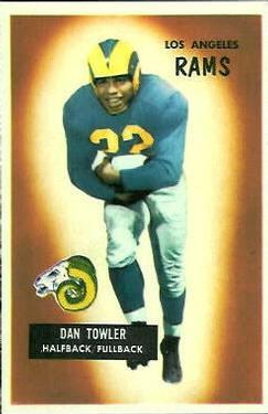 1955 Bowman #47 Dan Towler