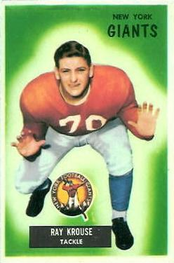 1955 Bowman #51 Ray Krouse RC