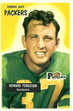 1955 Bowman #57 Howard Ferguson RC