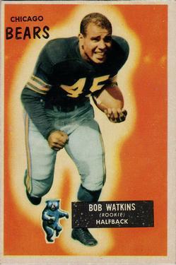 1955 Bowman #58 Bobby Watkins RC