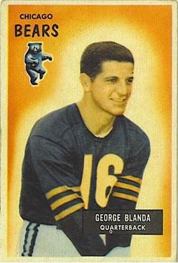 1955 Bowman #62 George Blanda