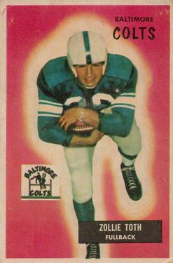 1955 Bowman #147 Zollie Toth