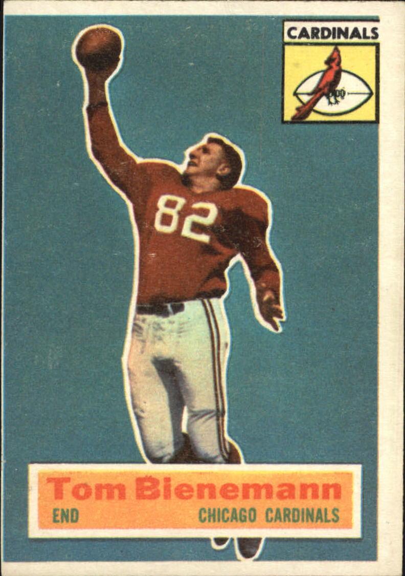 1956 Topps #10 Tom Bienemann SP RC