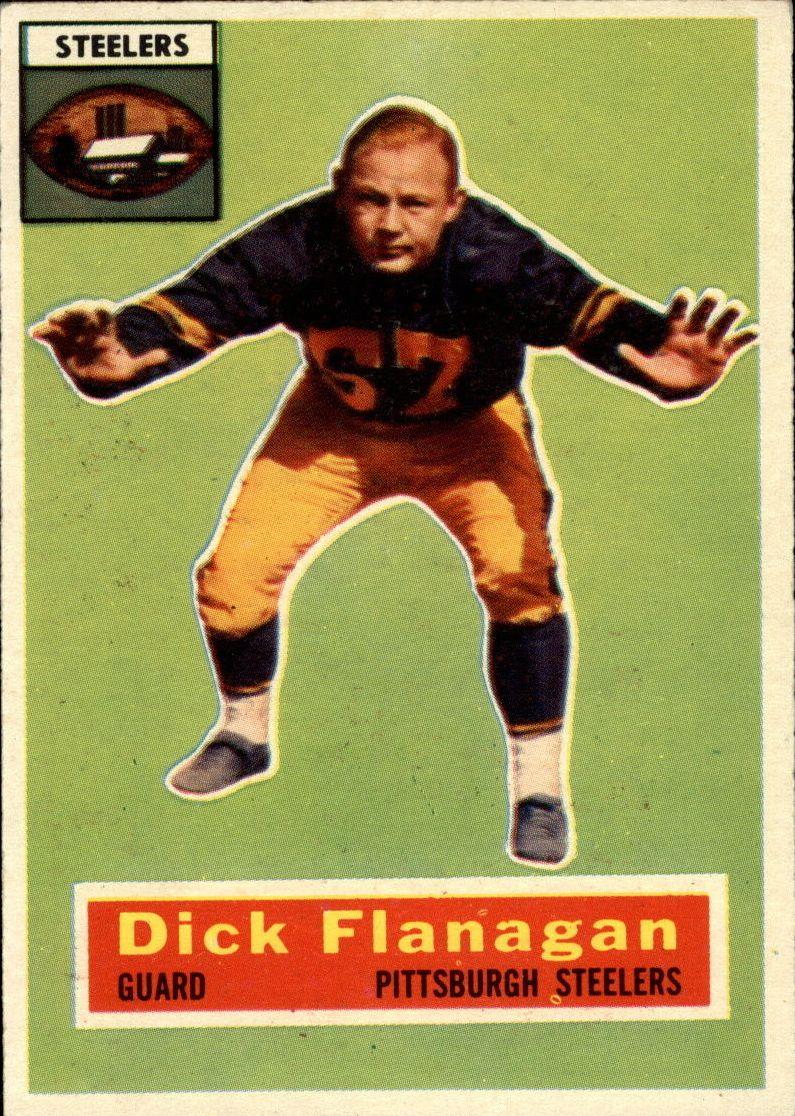 1956 Topps #27 Dick Flanagan RC