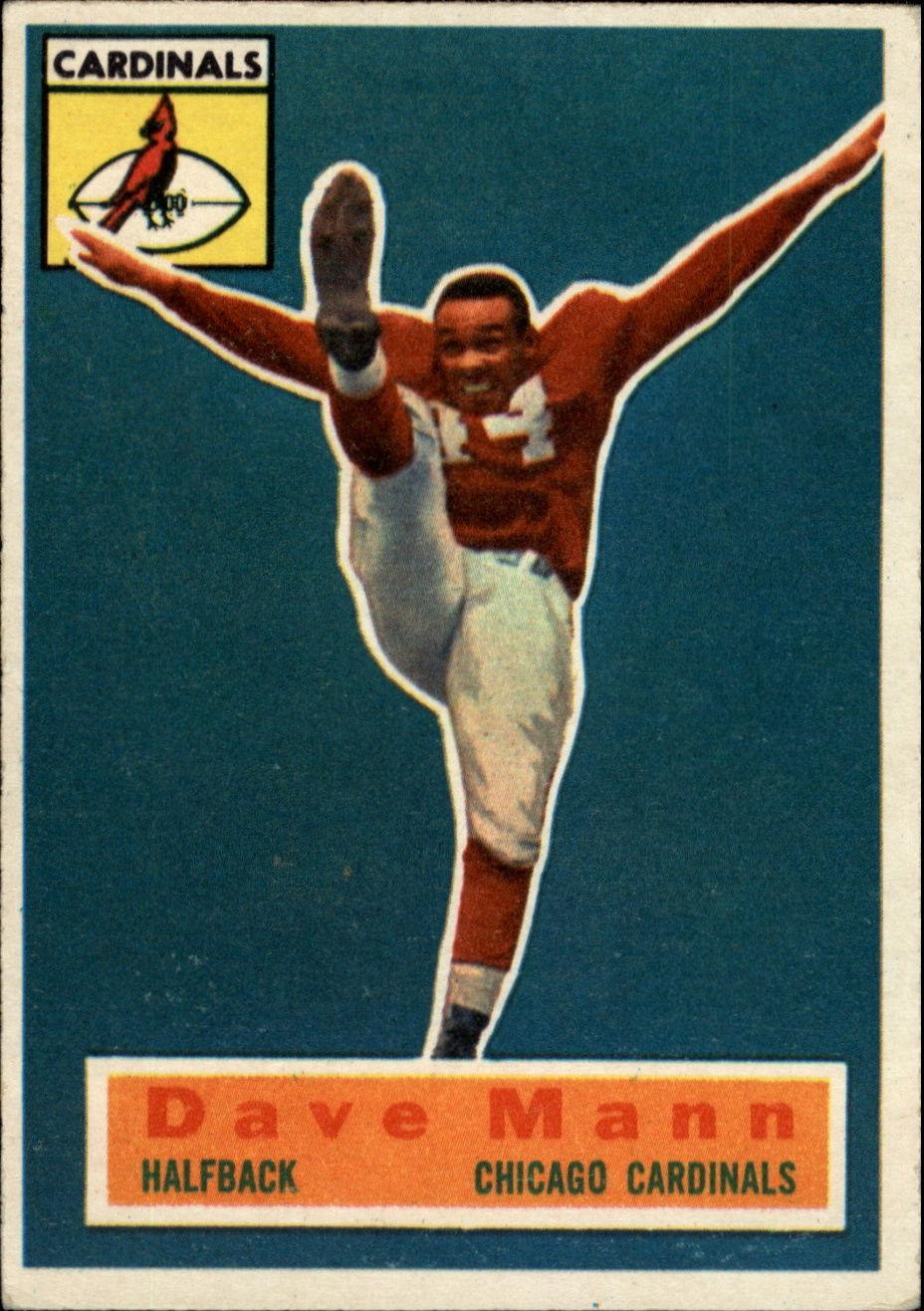 1956 Topps #34 Dave Mann SP RC