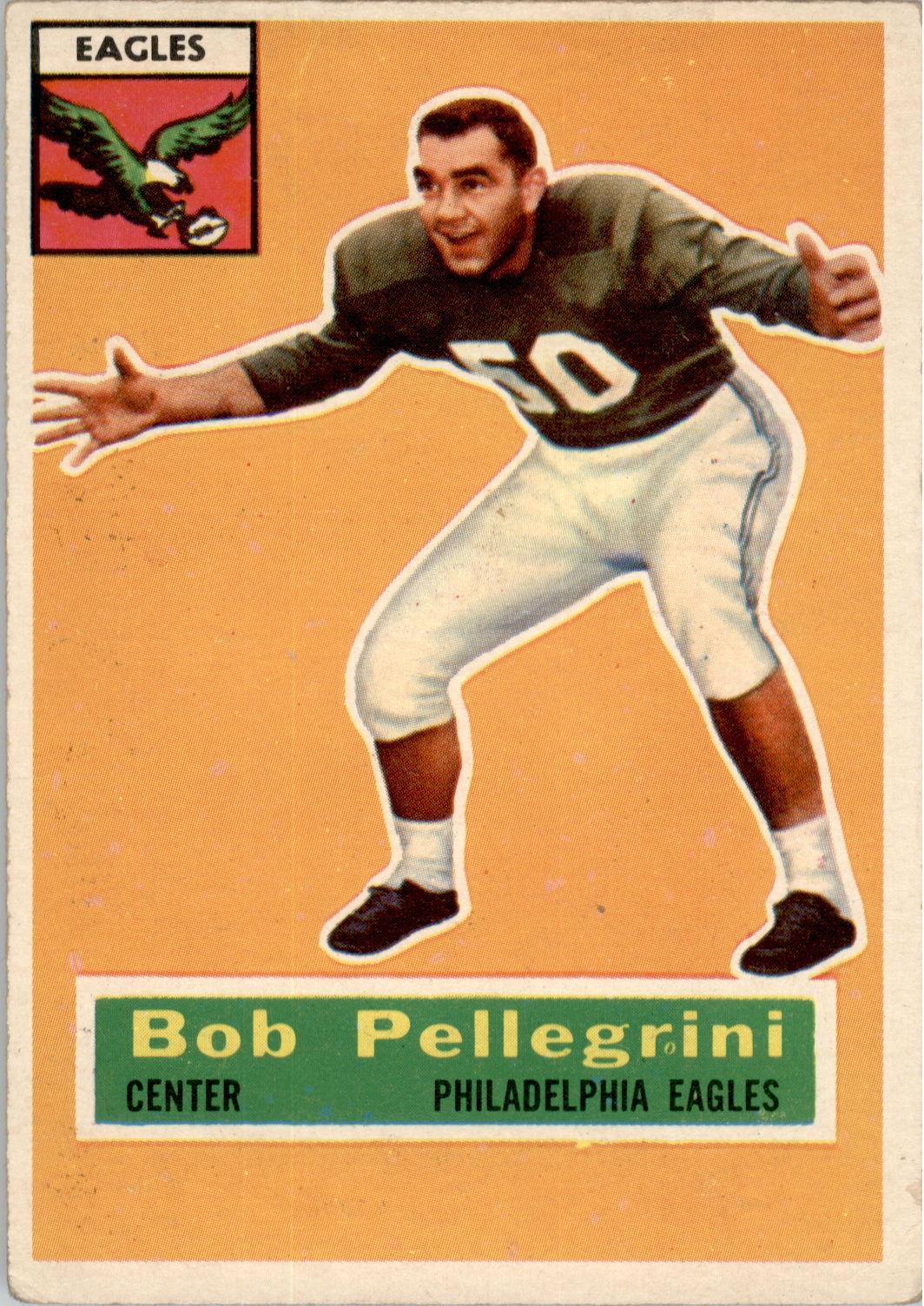 1956 Topps #64 Bob Pellegrini RC