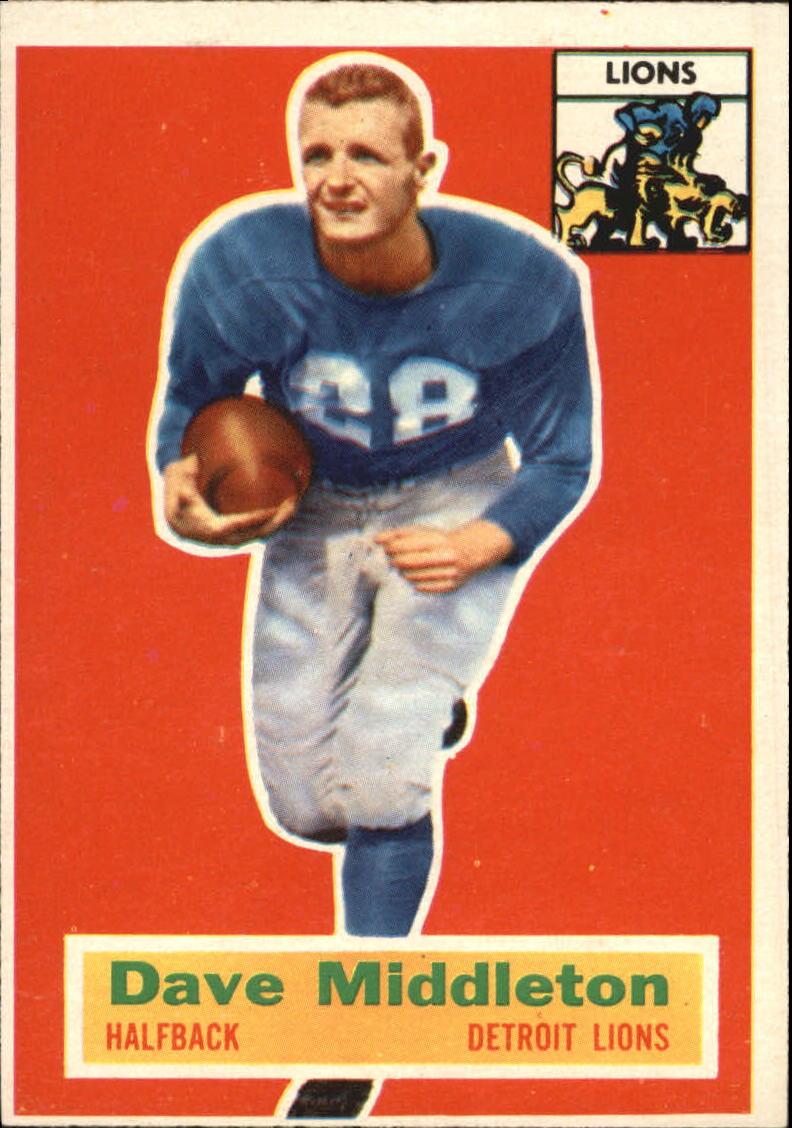 1956 Topps #68 Dave Middleton RC