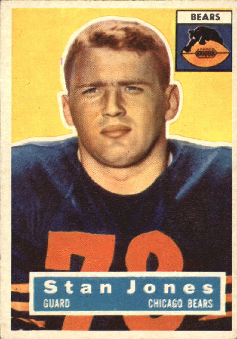 1956 Topps #71 Stan Jones RC