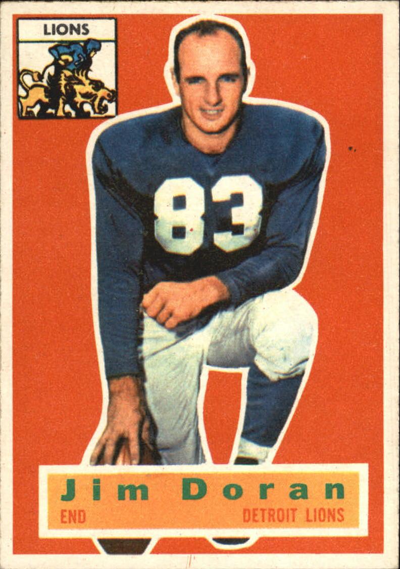 1956 Topps #80 Jim Doran RC