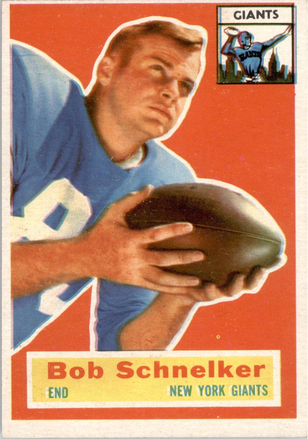 1956 Topps #89 Bob Schnelker RC