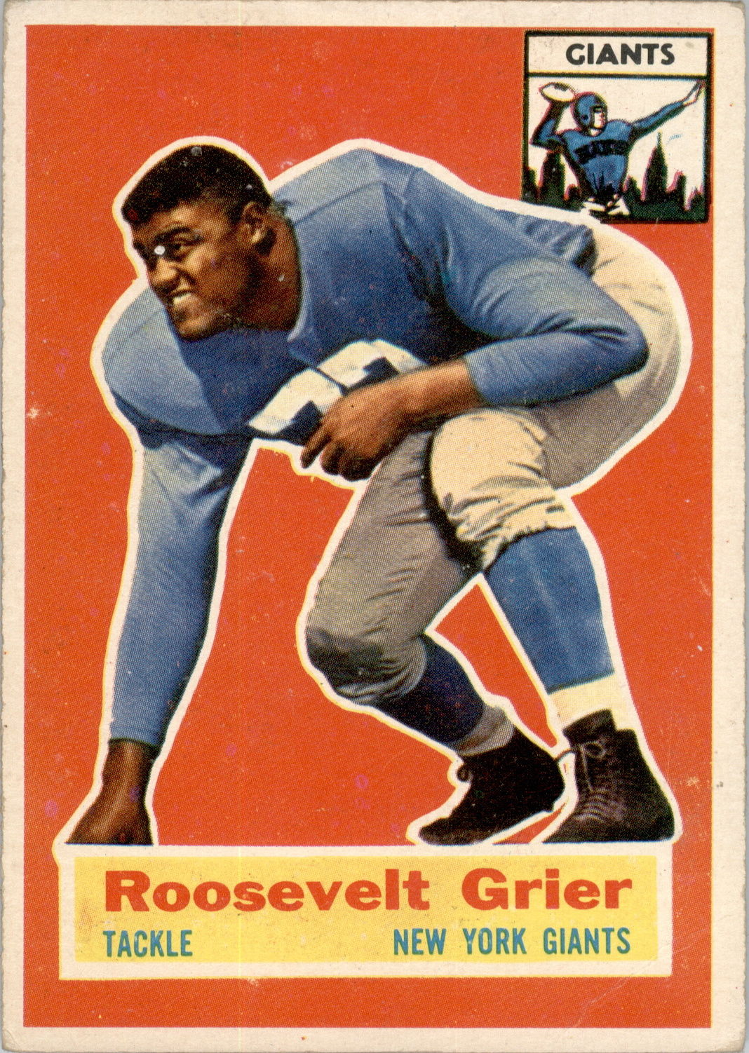 1956 Topps #101 Roosevelt Grier RC