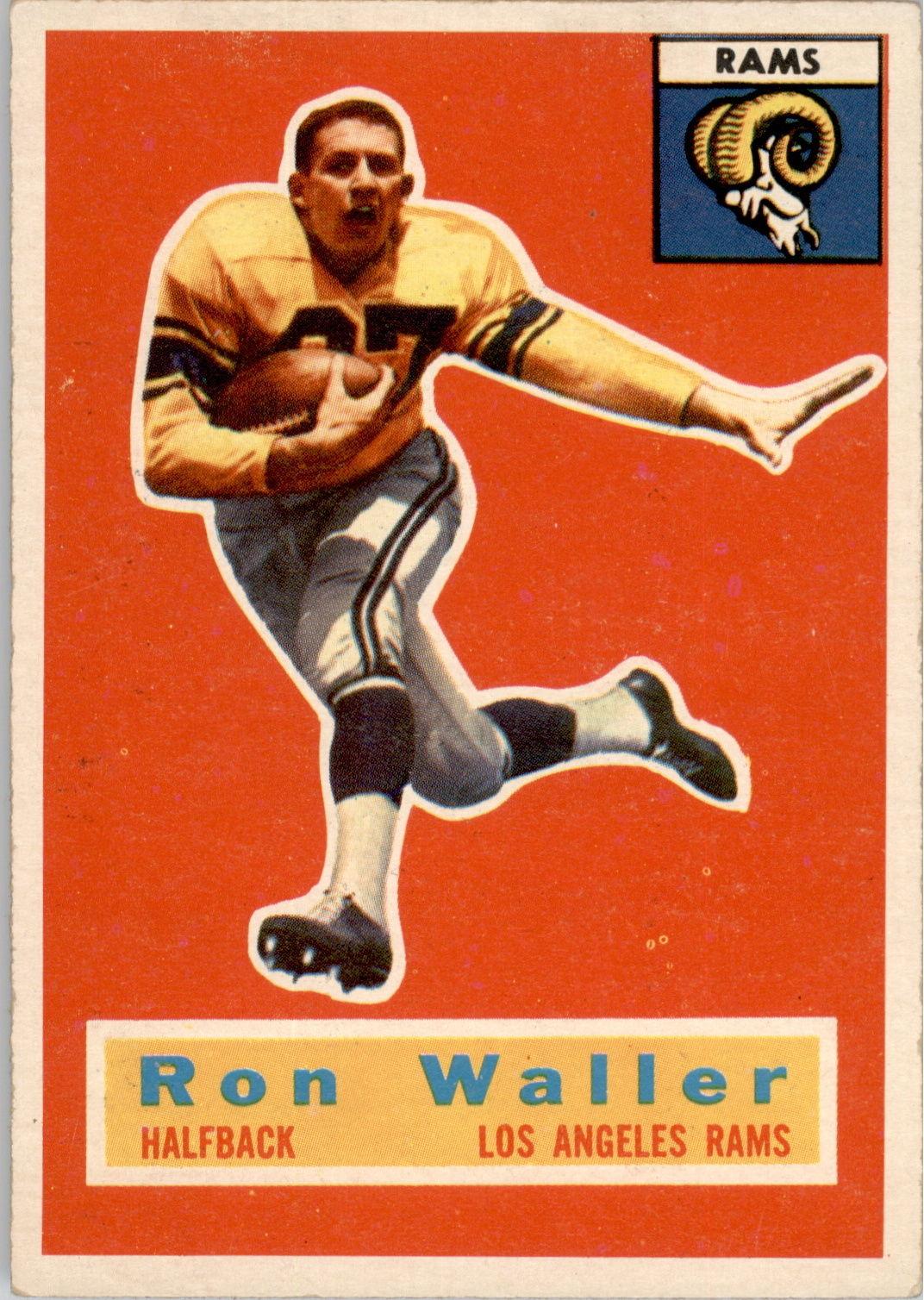 1956 Topps #102 Ron Waller RC
