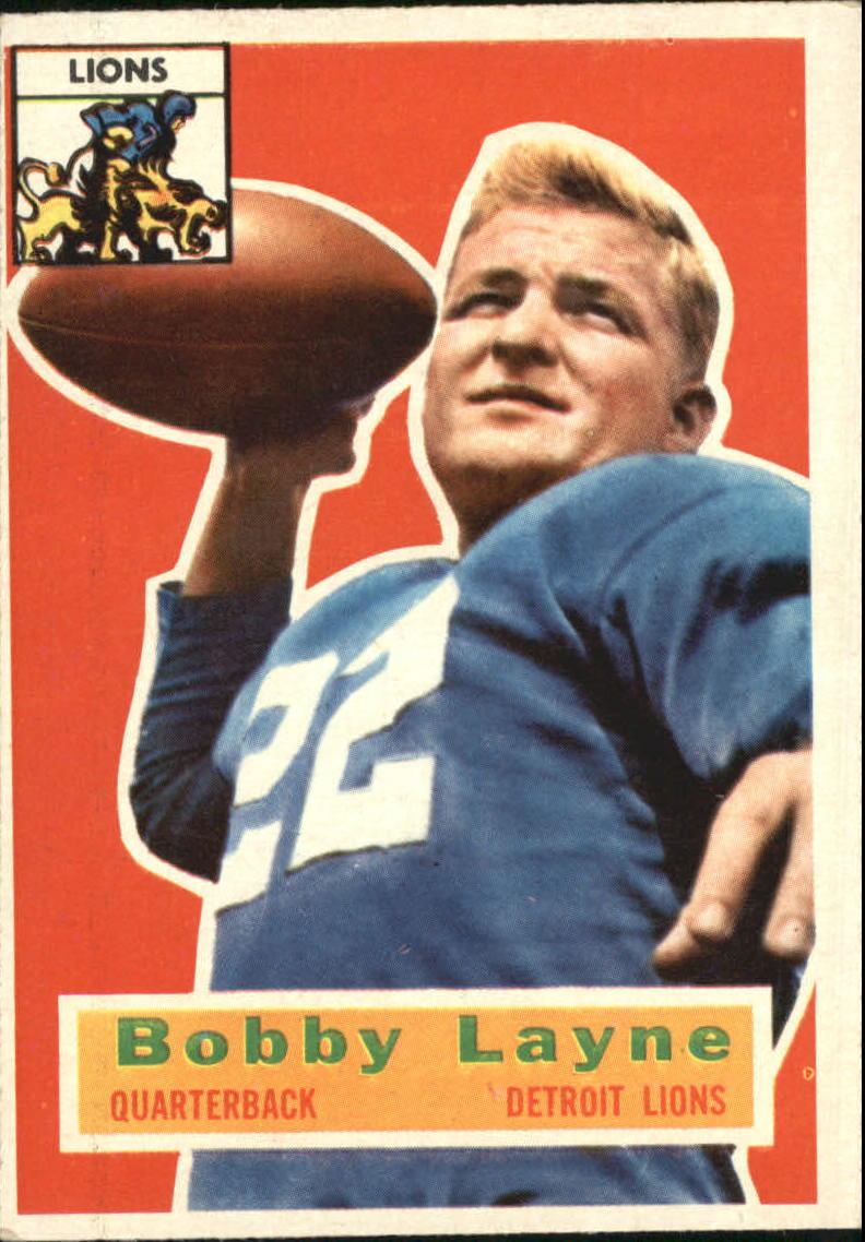 1956 Topps #116 Bobby Layne