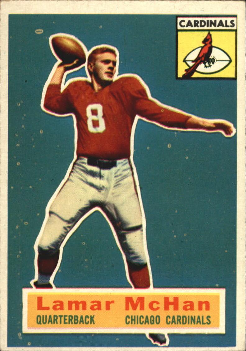 1956 Topps #118 Lamar McHan RC SP