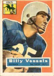 1956 Topps #120 Billy Vessels RC
