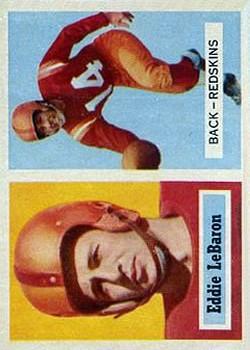 1957 Topps #1 Eddie LeBaron