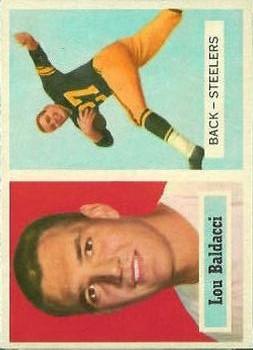 1957 Topps #4 Lou Baldacci RC