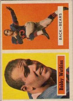 1957 Topps #7 Bobby Watkins