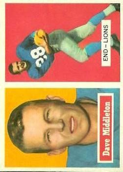 1957 Topps #8 Dave Middleton