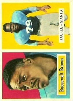 1957 Topps #11 Roosevelt Brown