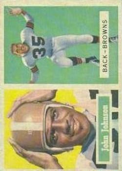 1957 Topps #16 John Henry Johnson