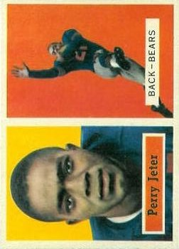1957 Topps #19 Perry Jeter RC
