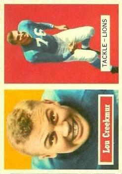 1957 Topps #20 Lou Creekmur