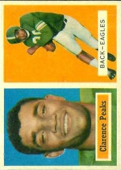 1957 Topps #37 Clarence Peaks RC