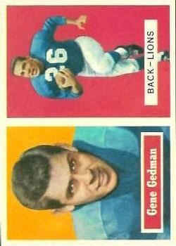 1957 Topps #44 Gene Gedman RC