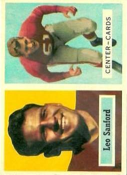 1957 Topps #74 Leo Sanford