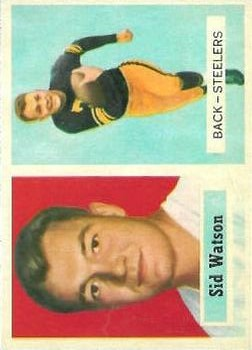 1957 Topps #75 Sid Watson RC