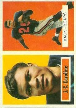 1957 Topps #79 J.C. Caroline RC