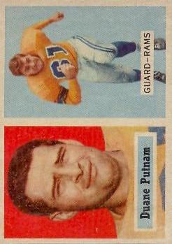 1957 Topps #87 Duane Putnam RC