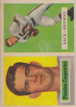 1957 Topps #93 Preston Carpenter DP RC