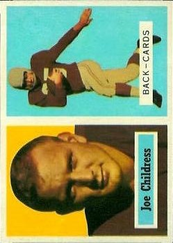 1957 Topps #100 Joe Childress DP RC