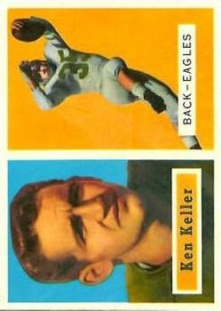 1957 Topps #111 Ken Keller DP RC